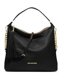 Love this Large Weston pebbeld bag byMichael Kors