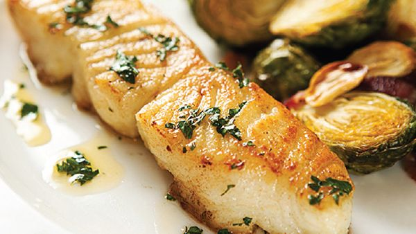 Chilean Sea Bass is the filet mignon of fish! This recipe will surely please your taste buds, plus it offers another option for anyone trying to steer clear of red meats. Try it seared with Lemon Dill Sauce, Wild Rice, Green Beans & a dry, Italian white wine.
