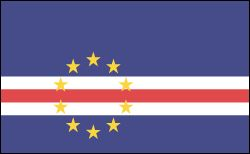Cape Verde,Total area: 1,556 sq mi (4,030 sq km)    Population (2012 est.): 523,568 (growth rate: 1.43%), life expectancy: 71; density per sq km: 105    Capital and largest city (2009 est.): Praia, 125,000    Other large city: Mindelo, 66,100