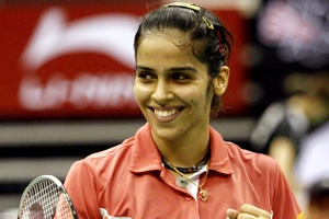 Saina Nehwal became the first Indian woman to reach the singles quarter finals at the Olympics.    She won against world number five and fourth seed Wang Chen of Hong Kong by 2-1 in a three-game thriller in the 2008 Beijing summer Olympics.In the quarter-finals Saina lost a nail biting 3-gamer to world number 16 Maria Kristin Yulianti by 1-2.    She has qualified for 2012 London Olympics, we wish her all the very best.