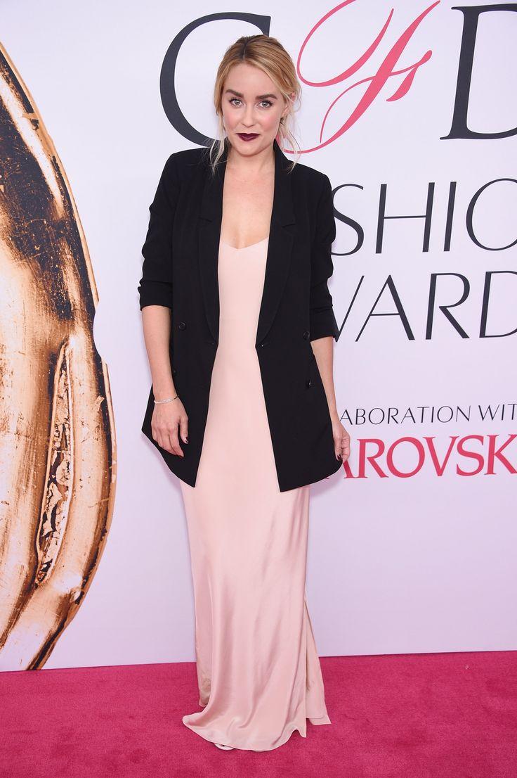 You Won't Believe How Affordable Lauren Conrad's Red Carpet Look Is via @WhoWhatWearUK