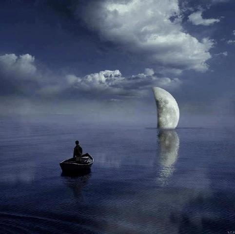 Patience is not sitting and waiting, it is foreseeing. It is looking at the thorn and seeing the rose, looking at the night and seeing the day. Lovers are patient and know that the moon needs time to become full.  ~Shams Tabrizi ♥