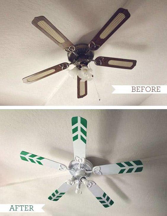 Faça você mesmo: ideias para personalizar seu ventilador de teto