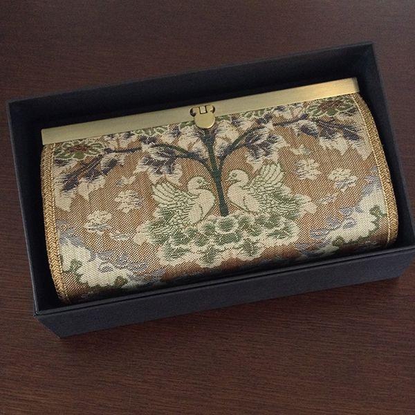 京都・西陣織会館にて西陣織長財布の販売がはじまります