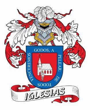 Iglesias family crest