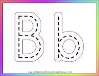 Letter B activities - High quality free preschool printables Blog for all letters and themes, but this one is for the letter B