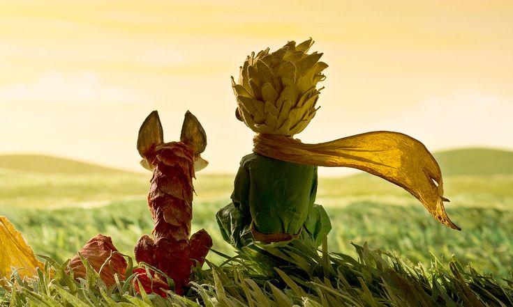 Extrait du film d'animation Le Petit Prince réalisé par Mark Osborne d'après le livre d'Antoine de Saint-Exupéry © DR
