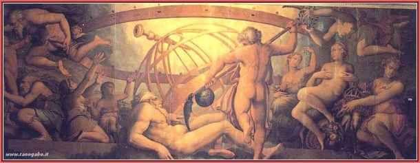 Mitologia - Urano, la personificazione del cielo Solo il figlio minore, Crono, accondiscese, tese un agguato al padre e, con l'aiuto di un falcetto datogli dalla madre, lo evirò. Dalle sue ferite, nacquero i Giganti e le Erinni…. un'altra schiera d #crono #gea #iperione #rea #urano
