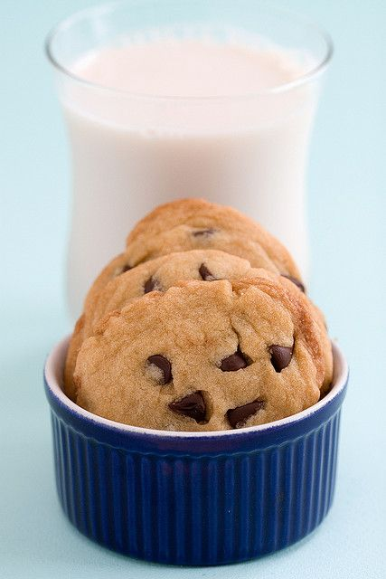 Vegan Chocolate Chip Cookie - Post Punk Kitchen    These are realllllly good and really easy. :3