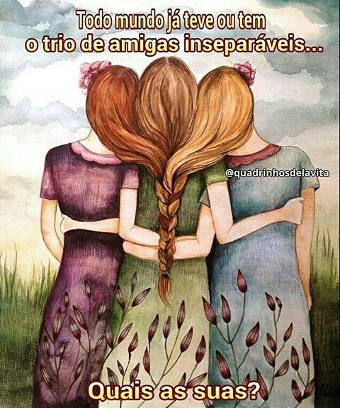 Marque aquelas que são inseparáveis (mesmo quando distantes)! =) - Gostou e ainda não nos segue? SIGA @quadrinhosdelavita (instagram e facebook), porque sua presença é muito importante para nós! Seja muito bem-vinda(o)! =) -  #quadrinhosdelavita - - - #amigo #amiga #saudade #distancia #distância #amigos #amizade #amigas #tirinhas  #quadrinhos #livros #vida #desenho #livro #frases #frase #pensamentos #ilustração #trechos #rabiscos #versos #amizadeverdadeira #amizades #amizadeétudo…