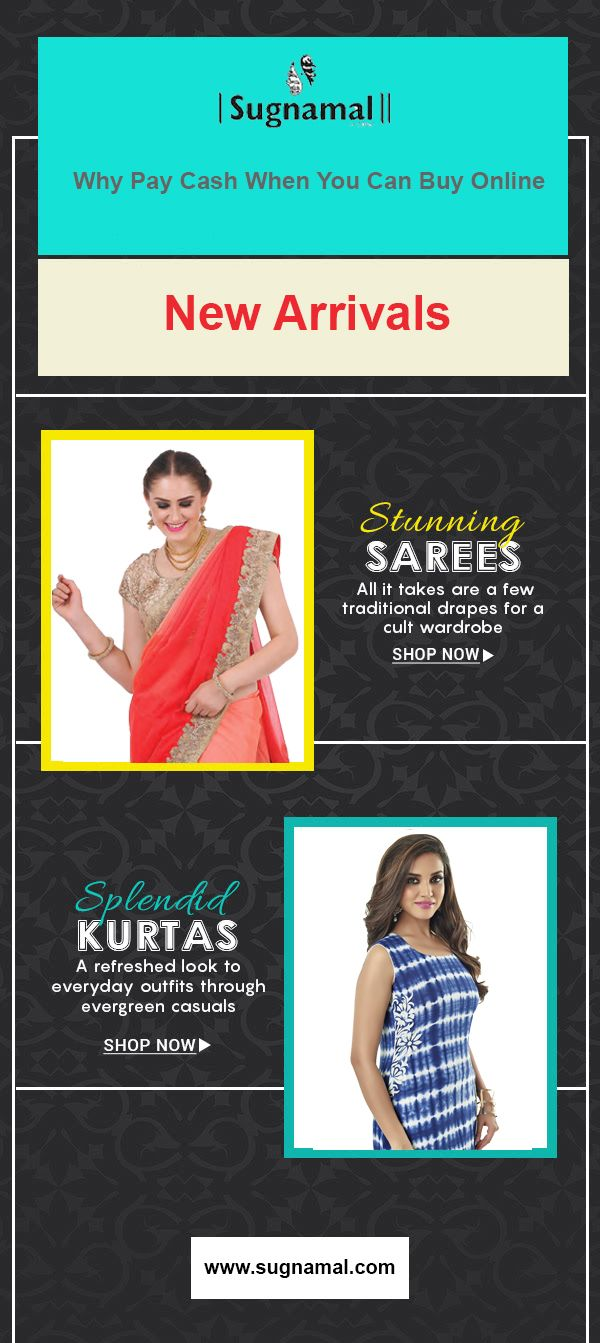 Why pay cash when you can buy online. This shaadi season shop online and save cash.  visit @http://sugnamal.com/category/?cat=Shop+Women&&subcat=Sarees #shaadi #online_shopping #partywear #new_arrivals #desi #indian #wedding #gold #kurti #saree #lehenga #ethnic #couture #ethnic #plazo #traditional #red #blue #heavy_sarees #royal #graceful #sugnamal  For any Query contact us: 8418888893