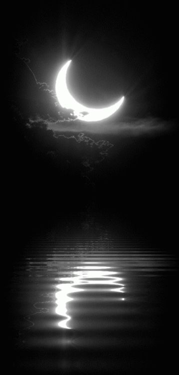 Spooky moon