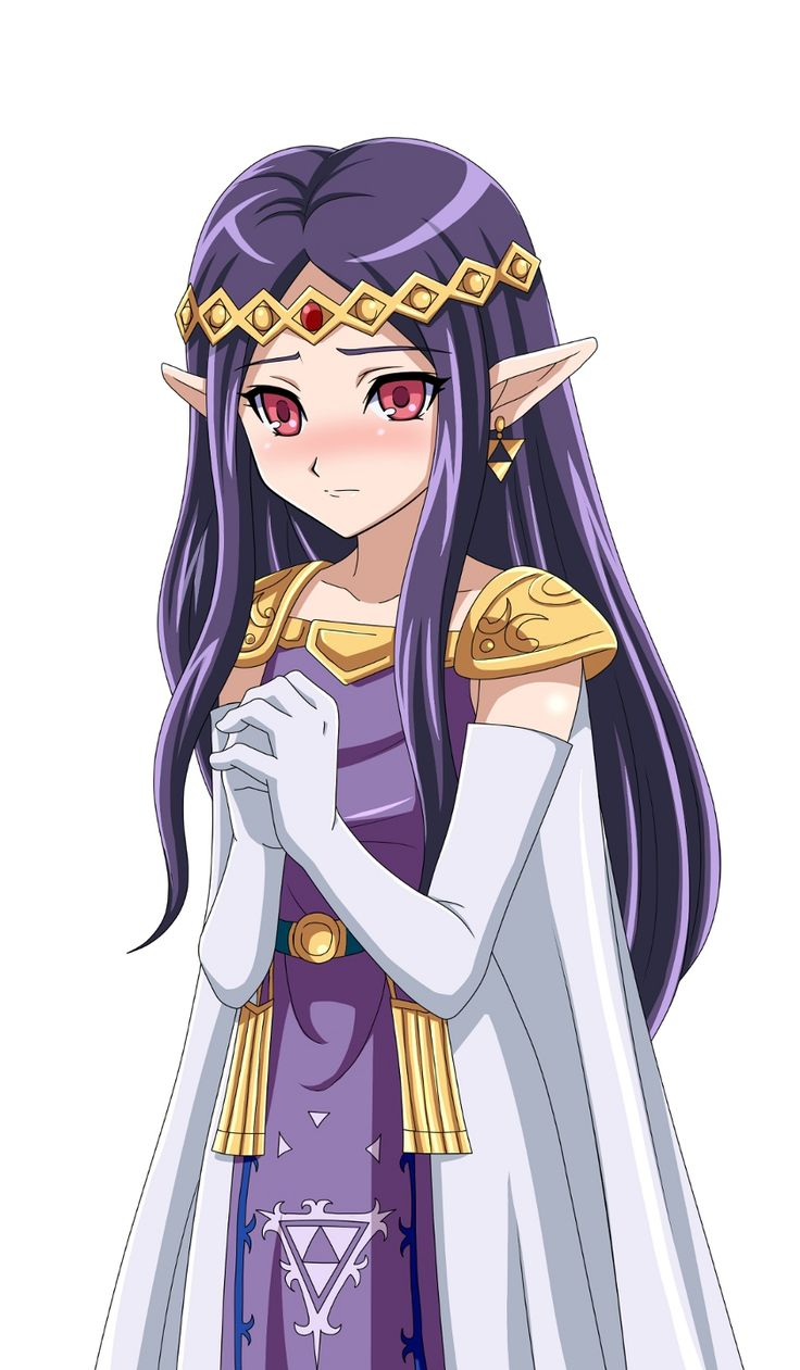 Princess Hilda, The Legend of Zelda: A Link Between Worlds artwork by Muedo.
