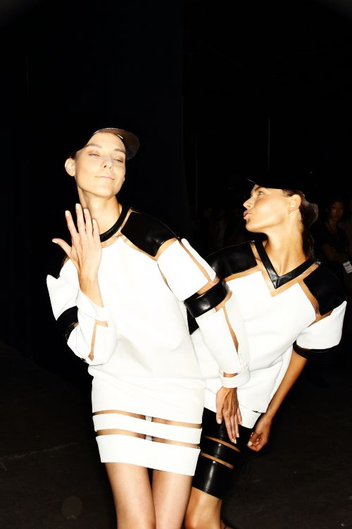 Alexander Wang SS13 Fashion Show New York Backstage, click here for plenty more Wang Photos