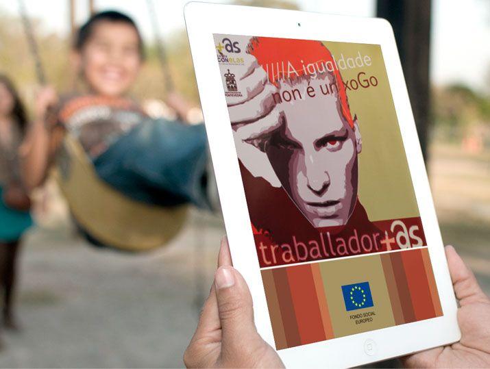 """Proyecto Multimedia """"Conta con Elas"""" para el Fondo Social Europeo"""