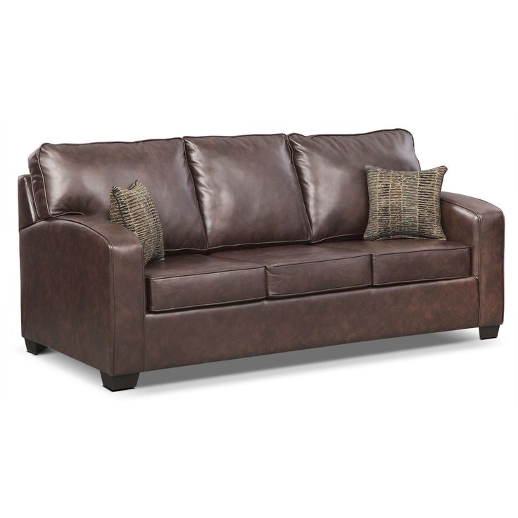 Sealy Leather Sofa Bed