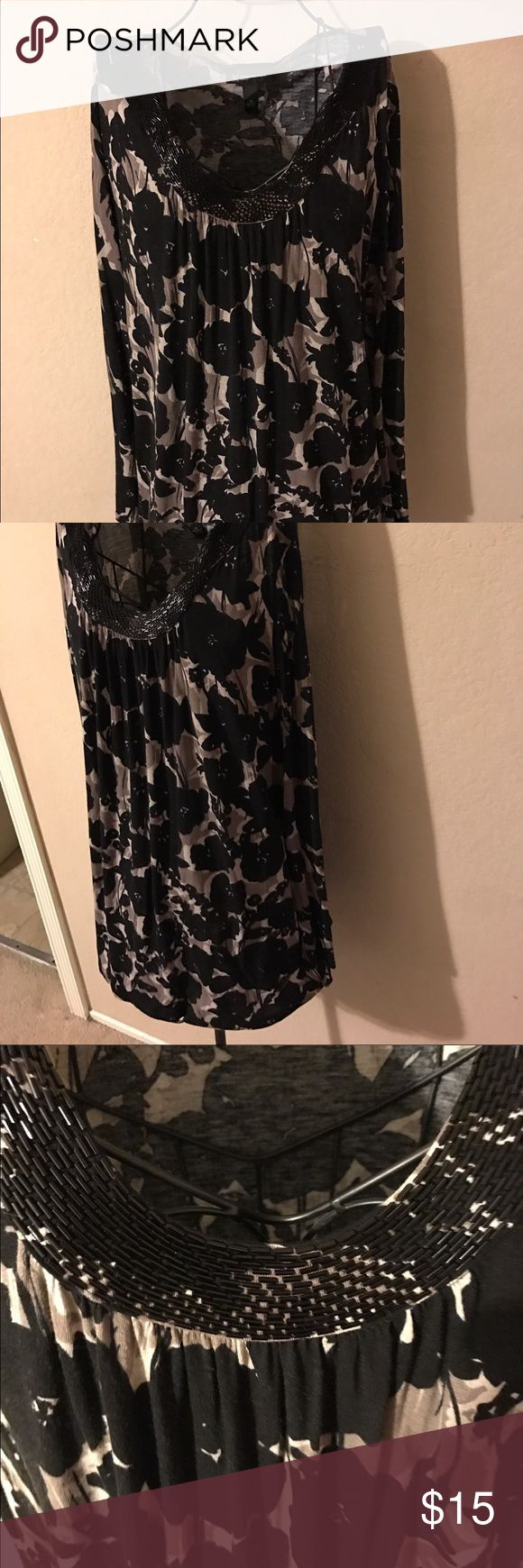🎉Gorgeous Macy's inc fashion tunic size 1X🎉 Pretty tunic INC International Concepts Tops Tunics