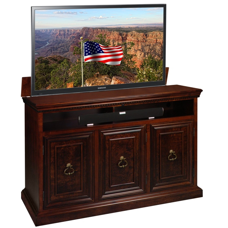 Luxury Small Tv Lift Cabinet