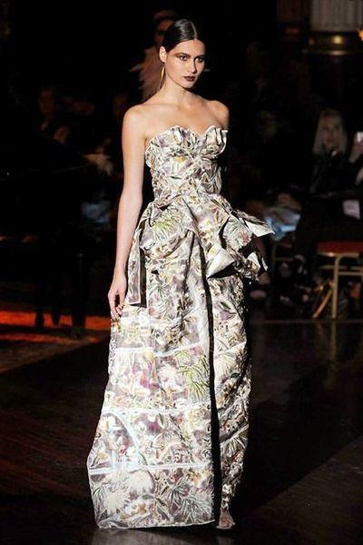 Photos du d fil frank sorbier haute couture automne hiver for Modern haute couture