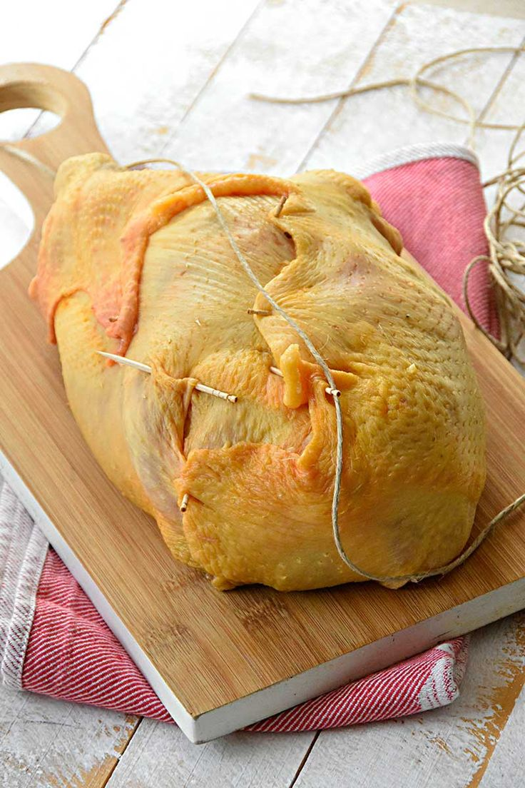 Pollo relleno para navidad / Chez Silvia