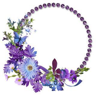 frames em psd e png de flores download | Molduras e Photoshop