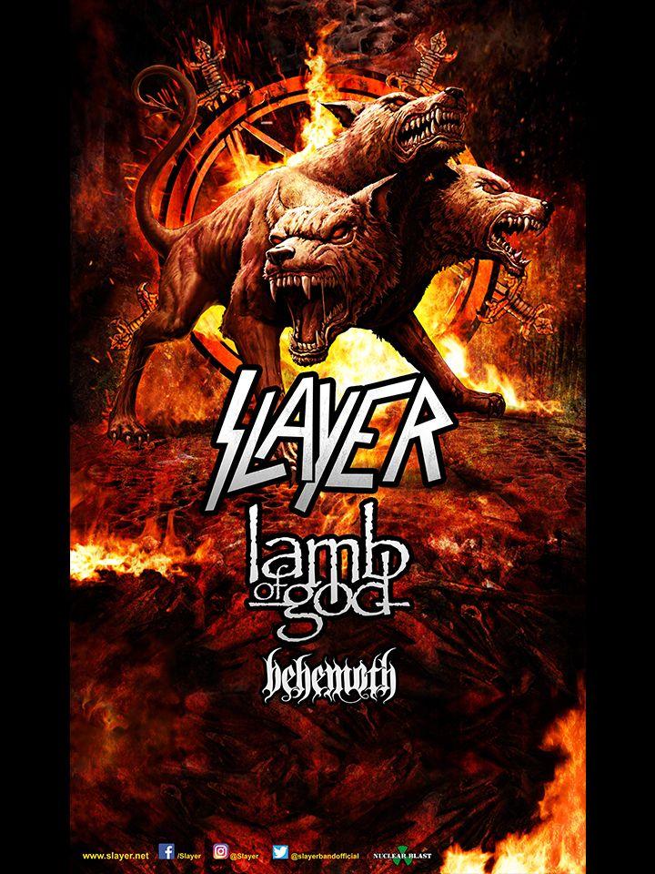 Slayer North American Tour 2017 | Slayer | Lamb of God | Behemoth