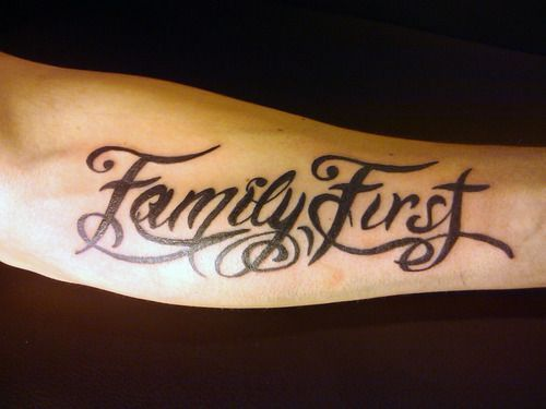 family first tattoo - Google zoeken