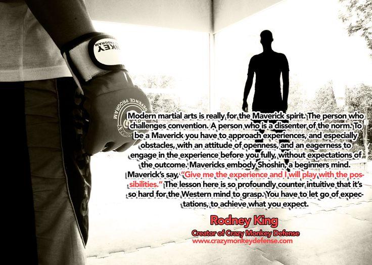 Be a Martial Art Maverick....