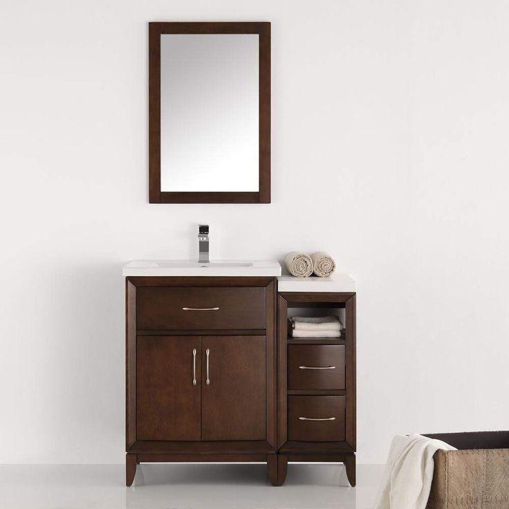 Fresca Cambridge 36 inch Traditional Single Bathroom Vanity FVN21-2412
