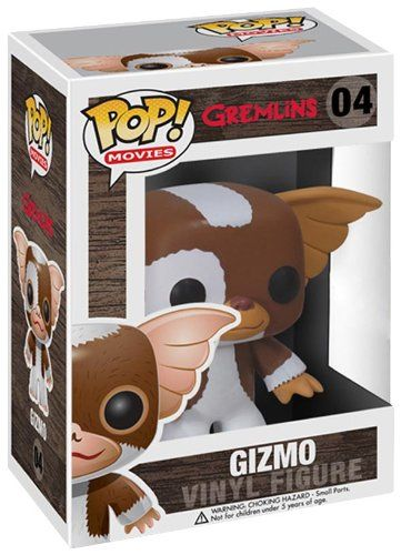 "Adorable 3 3/4"" collectible Gizmo Pop Heroes Vinyl Figure. Head turns and looks amazing. Stylized and fun Pop Vinyl Figure. Add to your collection. Ages 5 and up. Stylized and fun."