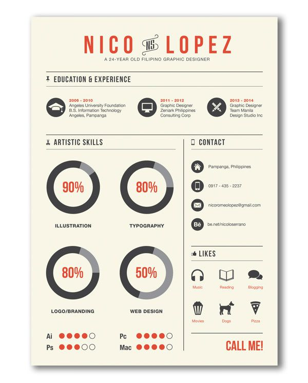 21 best CV design images on Pinterest Illustrations, School and - outstanding resumes