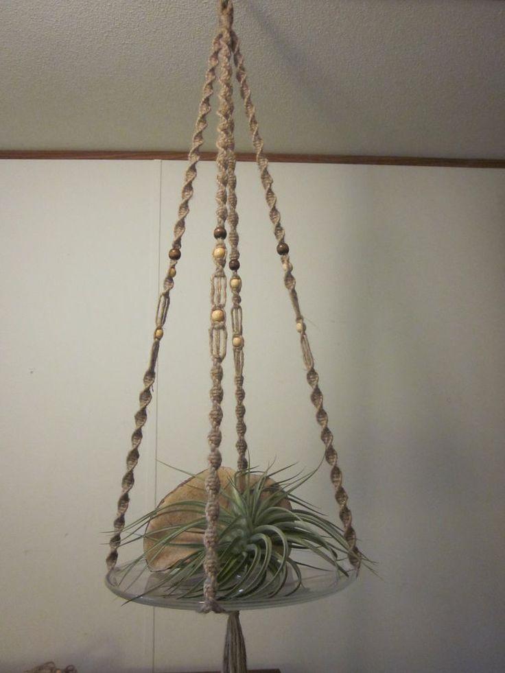 8 best macrame diy images on pinterest macrame plant hangers hanging table and macrame knots. Black Bedroom Furniture Sets. Home Design Ideas