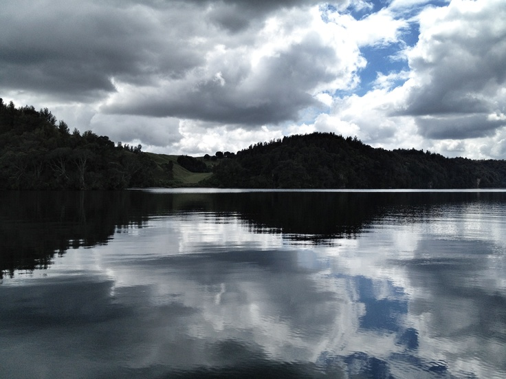 Lake Rotoma, Rotorua, NZ