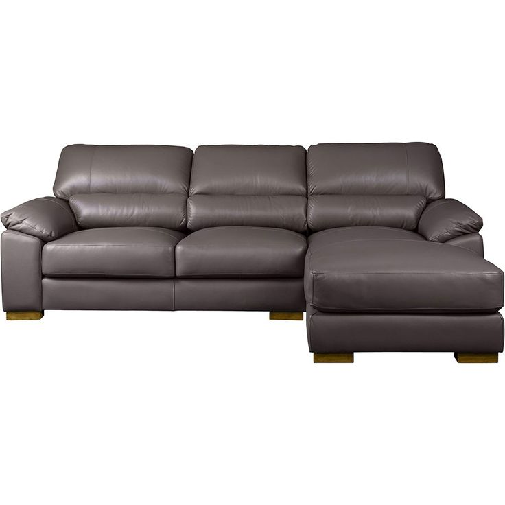 Urban 3 seater leather chaise