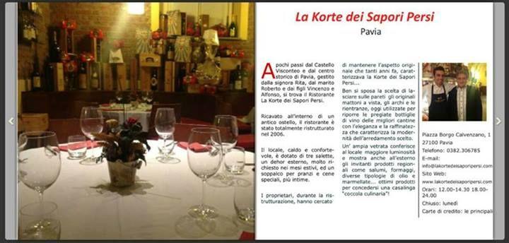 Articolo tratto dalla guida MABEDO 2014 Leggi la guida MABEDO 2014 o scaricala GRATUITAMENTE da: http://www.mabedo.it/pavia-e-provincia-2014.html