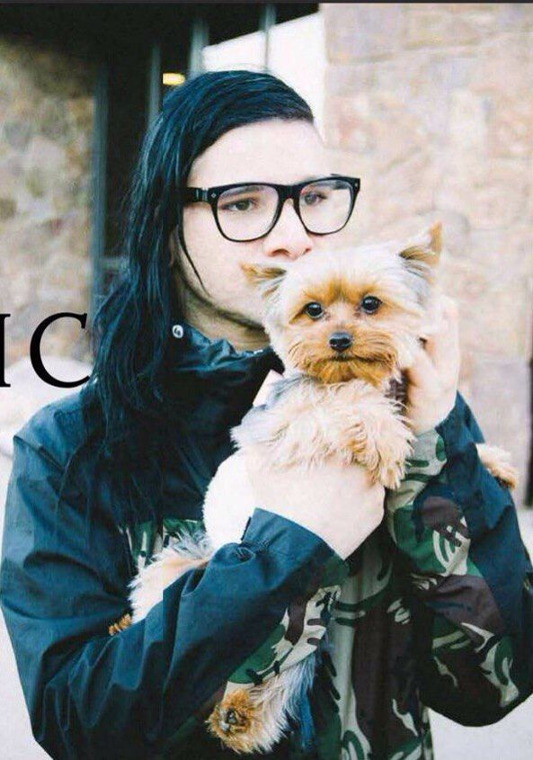 Skrillex love you