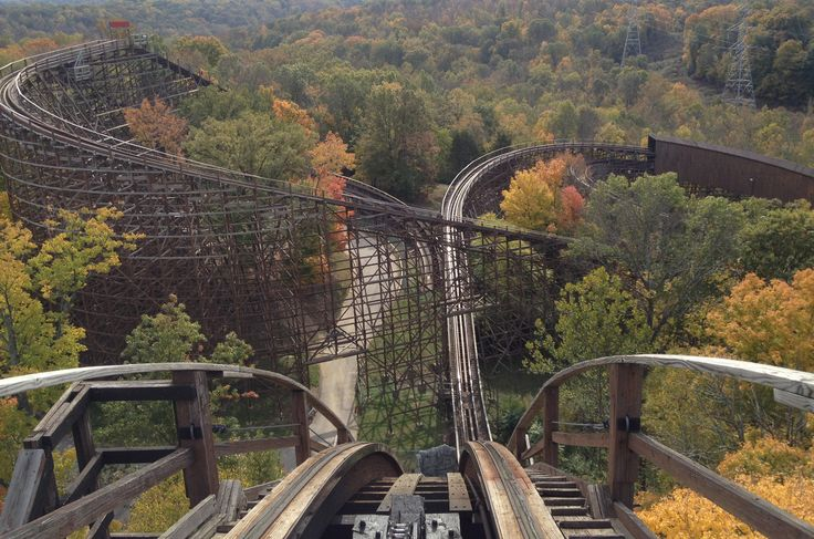 The Beast is a wooden roller coaster located at Kings Island in Mason, Ohio