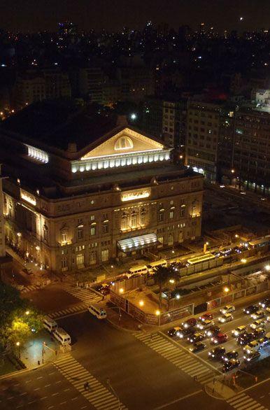 Teatro Colón, Ciudad de Buenos Aires, Argentina.