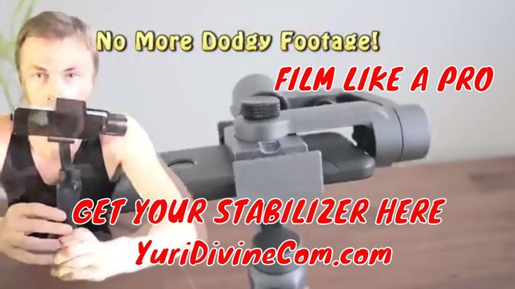 Buy Best Gimbal Smartphone Camera Stabilizer for Iphone - GoPro and More!
