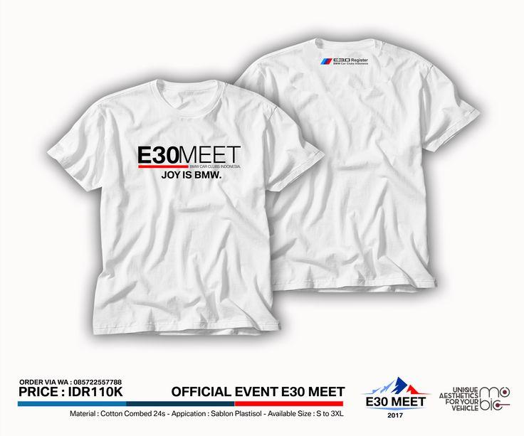 OFFICIAL MERCHANDISE E30 MEET - BMWCCI