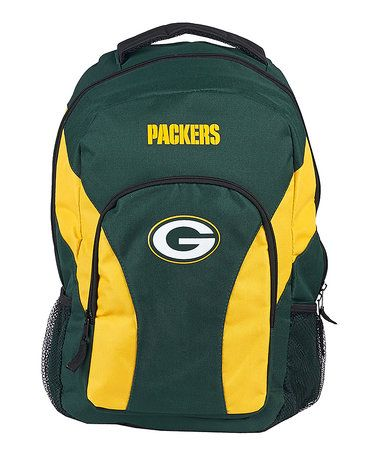 This Green Bay Packers Draft Day Backpack is perfect! #zulilyfinds