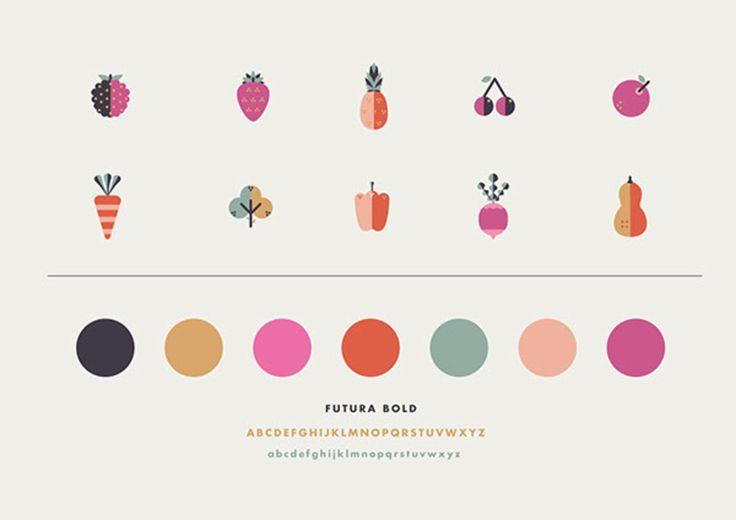 Sneaky Veg Brand elements by Vicki Turner | Illustration, fruits, vegetables, children | London