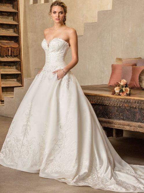 2d30183b9d4 Featured Wedding Dress  Casablanca  www.casablancabridal.com  Wedding dress  idea.