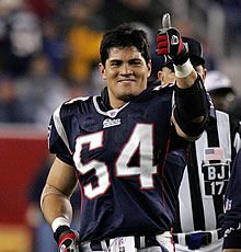 Tedy Bruschi. Miss him, but love hearing his commentary
