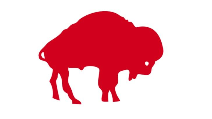 """Click visit to take the full quiz! A group of players known as """"The Electric Company"""" represented which team with this logo? """"The Electric Company"""" was the nickname for the Bills' offensive linemen that helped create running space for O.J. Simpson. -- Answer: Buffalo Bills -- #Sports"""