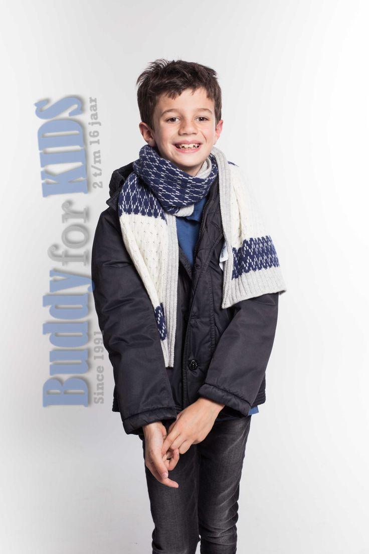 Heerlijk voor in de winter! Lekker warm en hartstikke mooi! https://www.buddyforkids.nl/stone-island-scarf.html