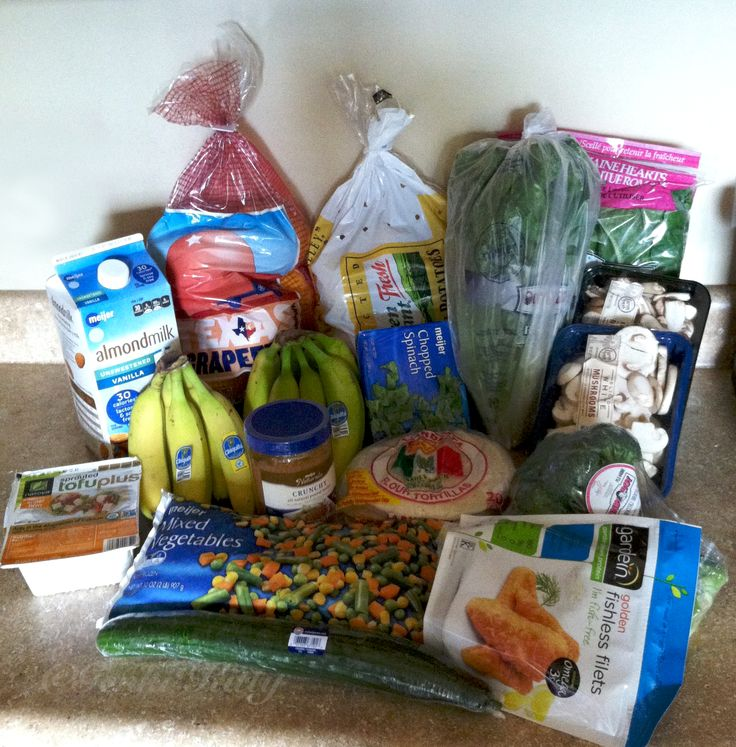Vegan Grocery Haul for my free vegan menu plan of October 18-24 #vegan #free #menuplan #groceryhaul