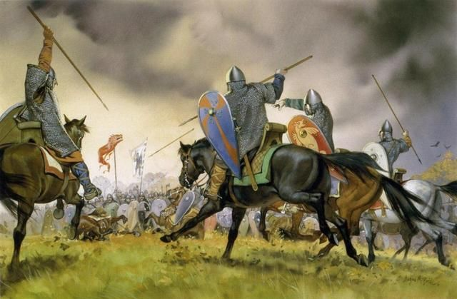 Norman Warriors by Angus McBride
