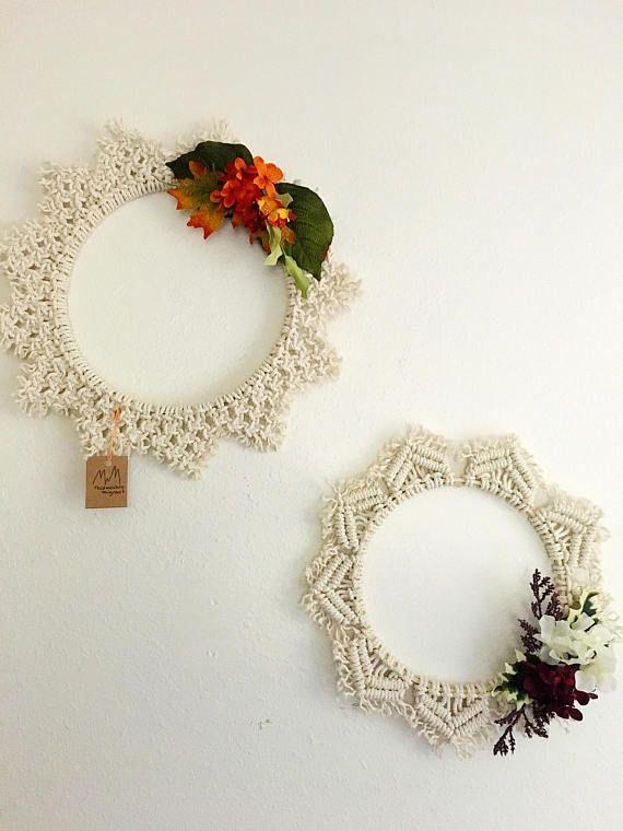 All Season Macrame Wreath Wreaths Macrame Patterns