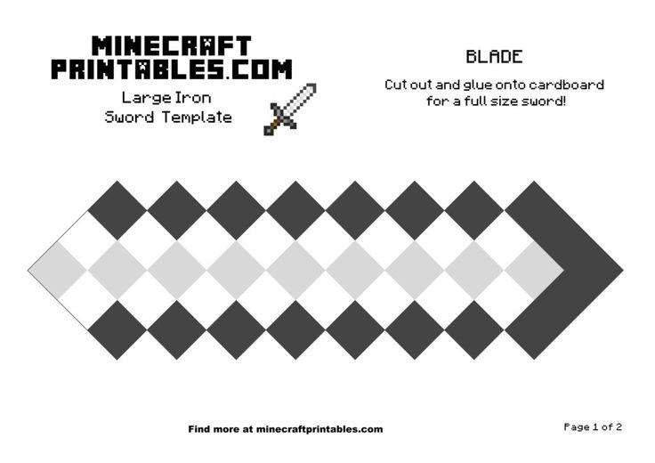Iron Sword Minecraft Diamond Sword Minecraft Sword